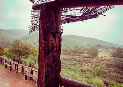 La Berrea lookout