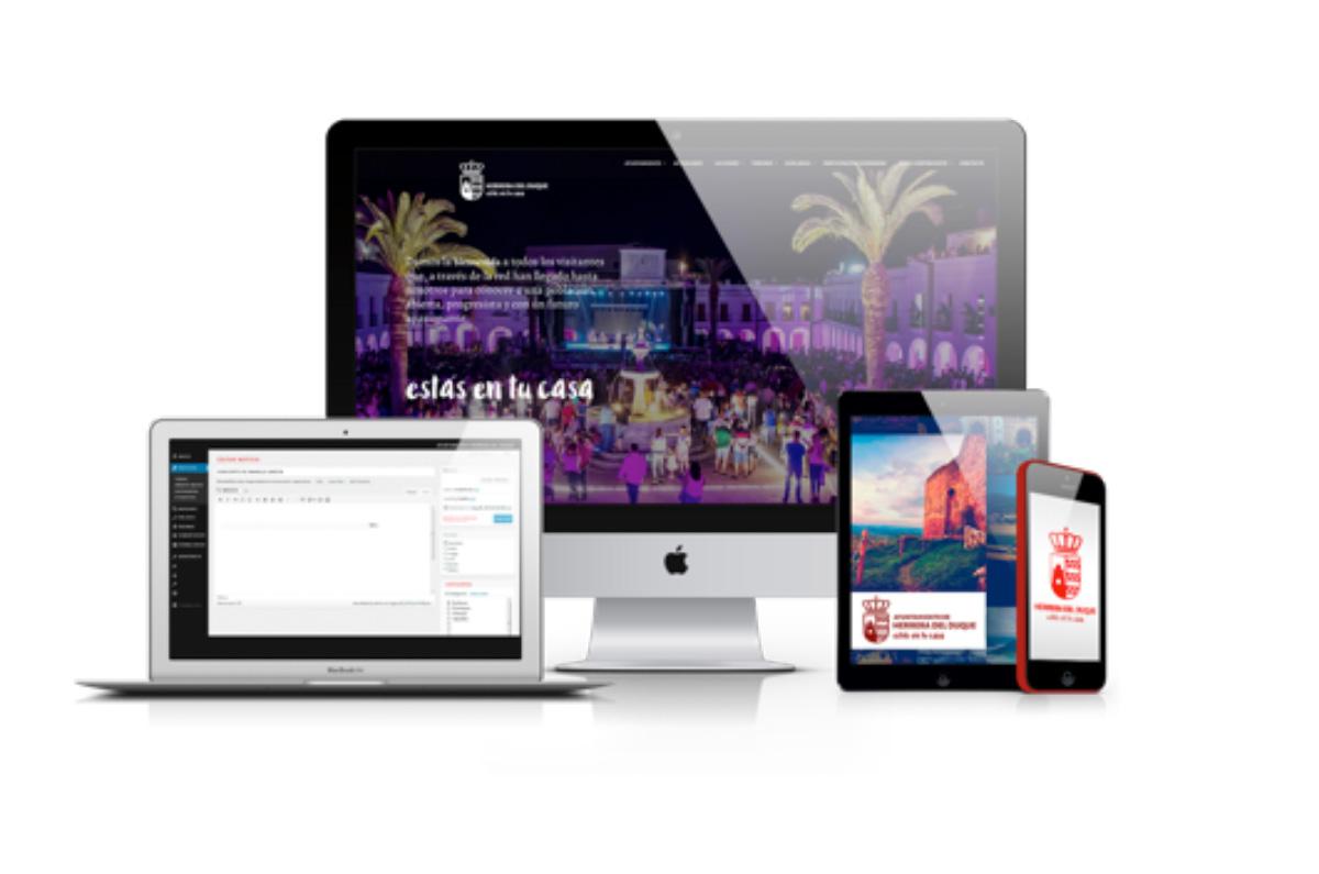 Herrera presenta su nueva web