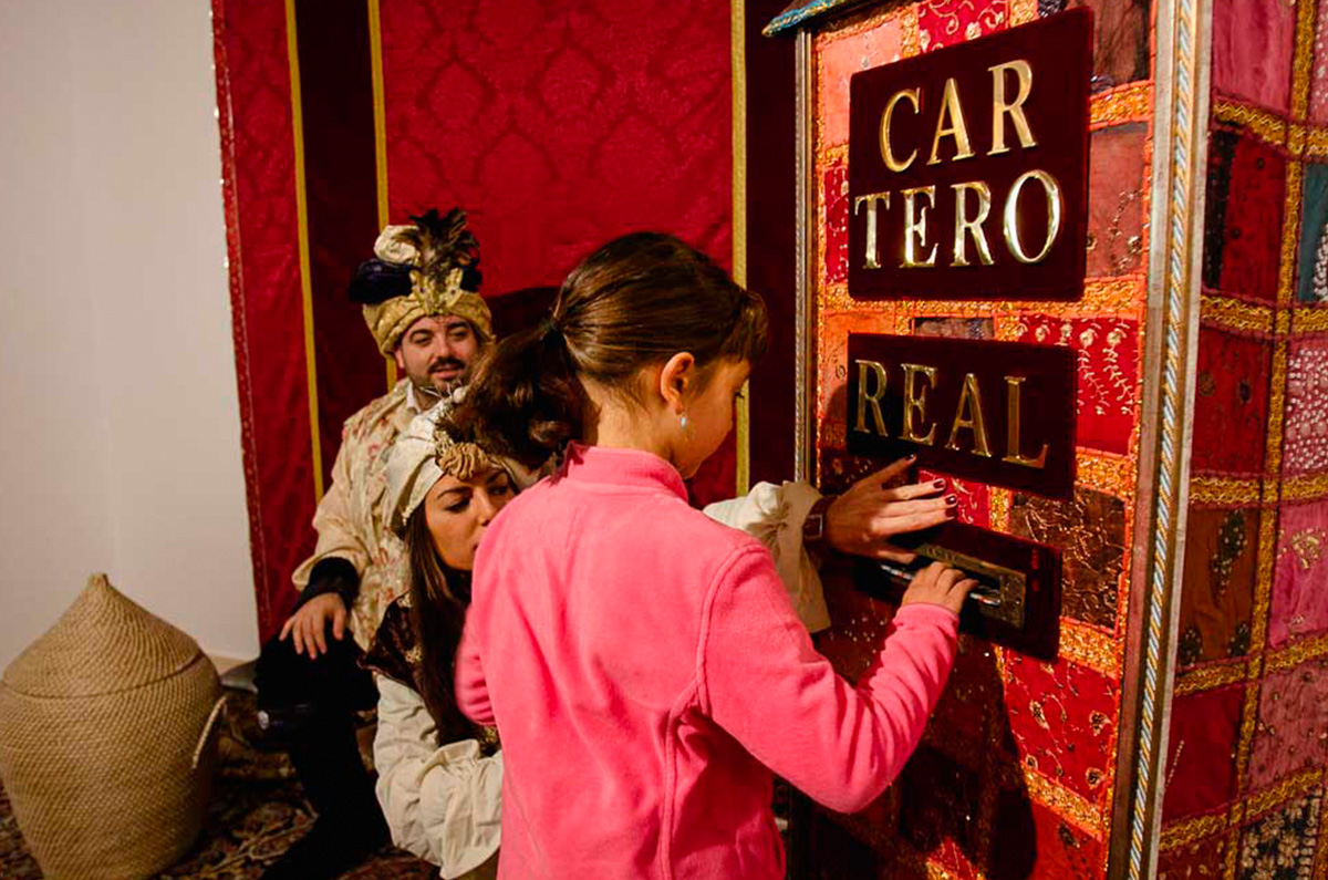 El Cartero Real visita Herrera
