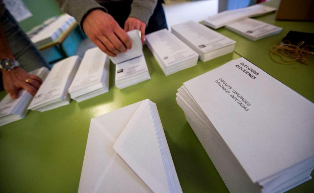 Relación de mesas electorales