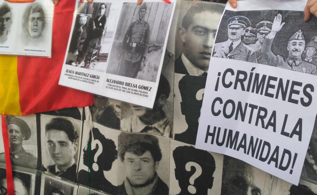 Homenaje a la víctimas del franquismo