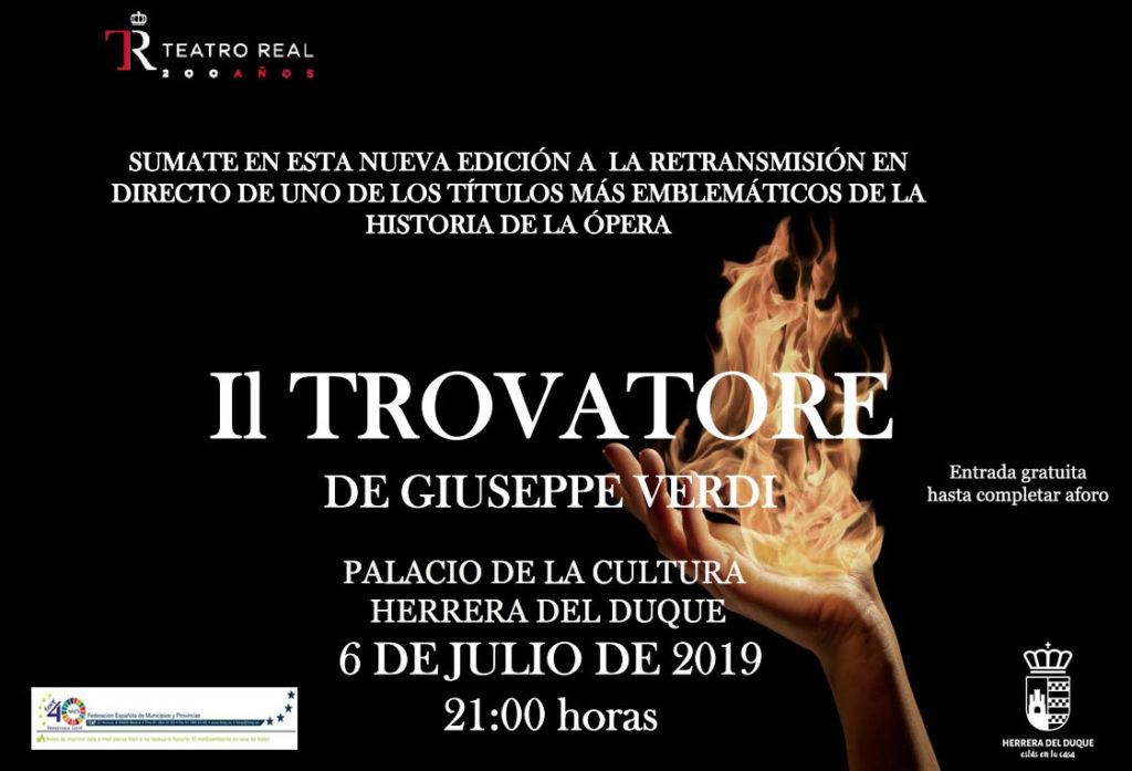 """Retransmisión: """"Il Trovatore"""", de Giuseppe Verdi"""