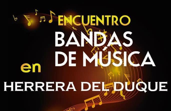 Encuentro de Bandas de Música en Herrera del Duque