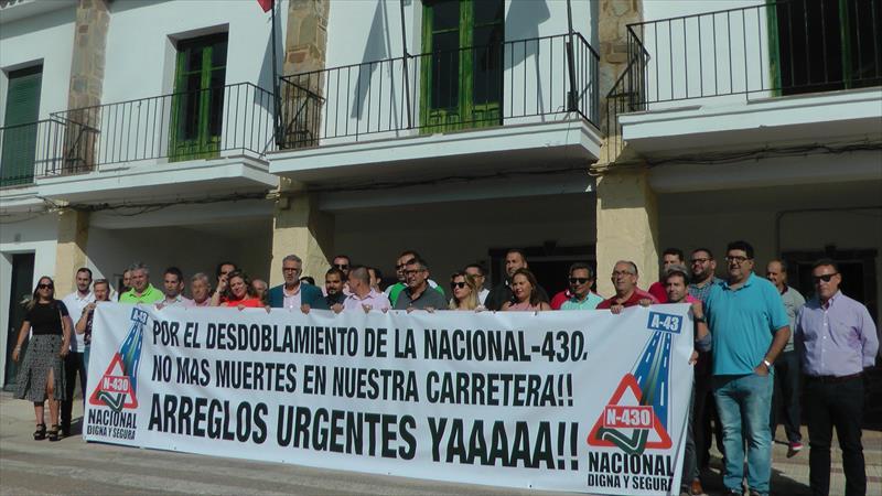 Manifestación el 17 de octubre para exigir la A-43
