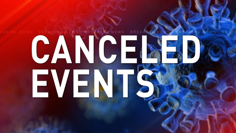 Cancelación de actos por el COVID-19