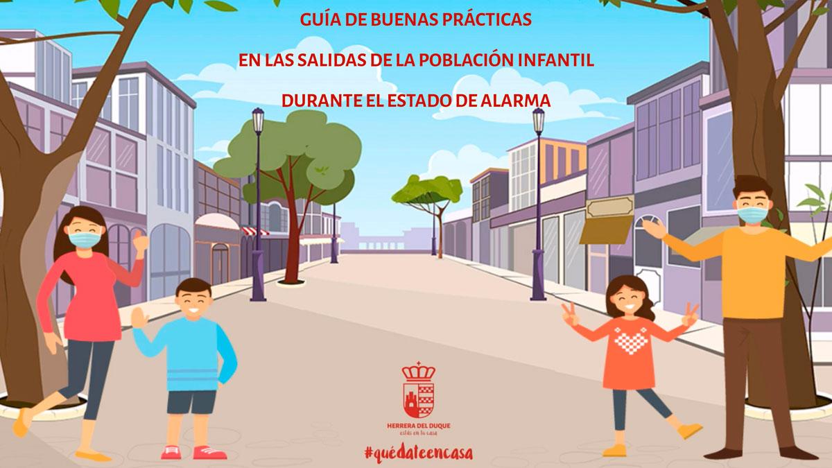 Guía de buenas prácticas para las salidas de menores