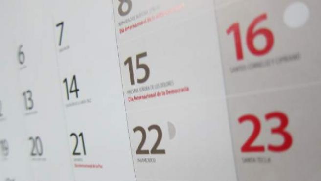 Cambio del festivo 15 de mayo al 7 de septiembre