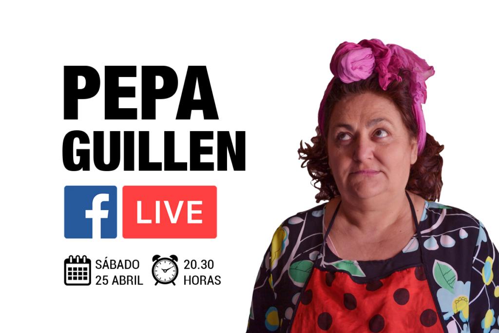 Pepa Guillen: Humor y Risas en directo