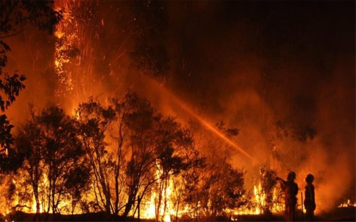 Bando: época de peligro de incendios