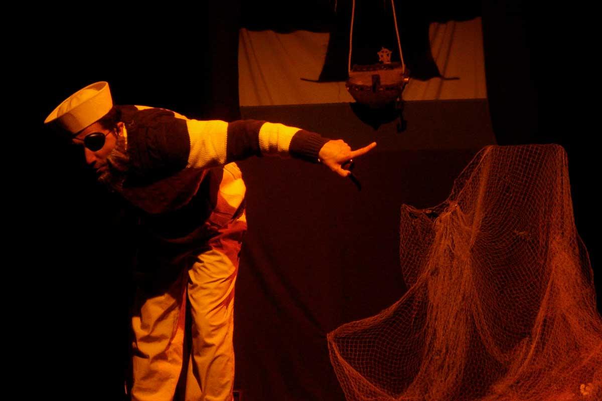 Teatro: Jean Pierre, el pirata